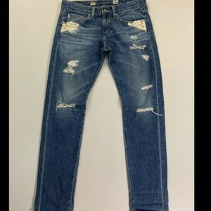 Adriano Goldschmied Blue Piper Slouchy Slim Jeans